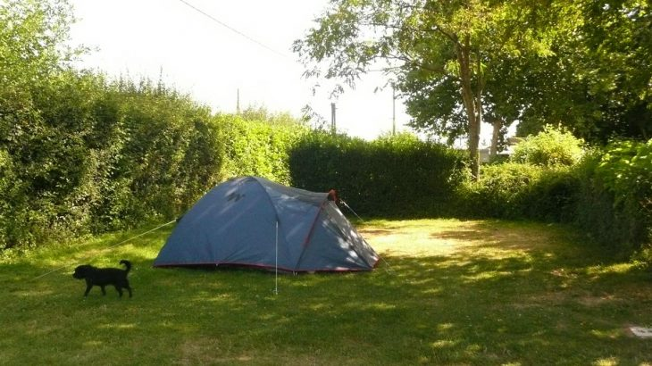 tente camping jardin